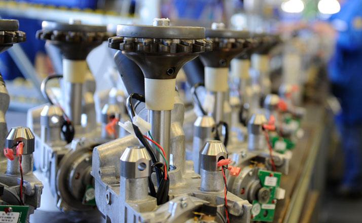 Elektronik Steuerung Mechatronik