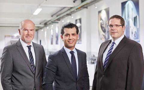 (From left to right: Gökhan Balkis, Managing Director of Franz Morat Group / Dr. Matthias Dannemann, Director of Operations of Framo Morat / Jörg Hansen, Director of Operations of F. Morat)